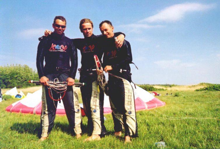 Kurs instruktorski - od lewej: Igor, Corey, Donat