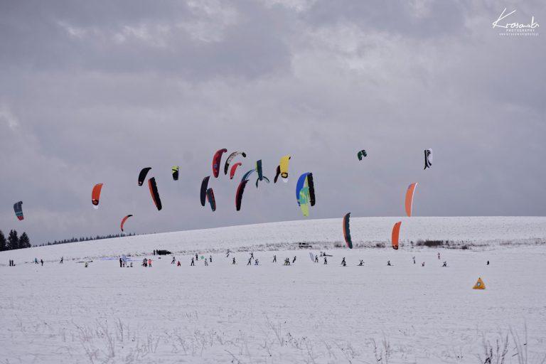 Snowkite - Orava, Słowacja